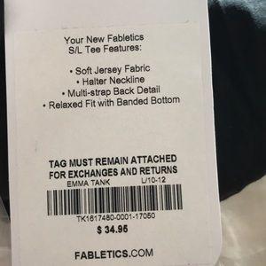 Fabletics Tops - New Fabletics Emma tank large black